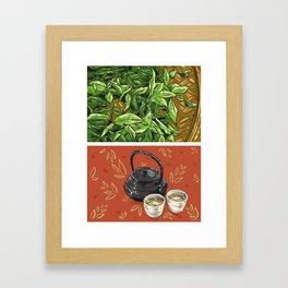 Foodie: It's Tea Time Framed Art Print