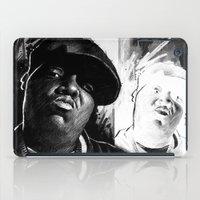 biggie smalls iPad Cases featuring BIGGIE by ChrisGreavesArt