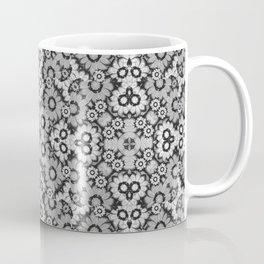 Geometric Stylized Floral Print Coffee Mug