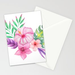 Tropical bouquet i Stationery Cards