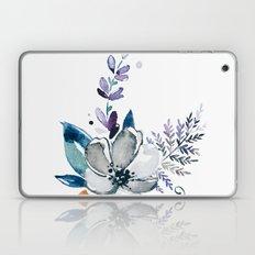 Watercolor water flower Laptop & iPad Skin