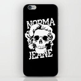 Norma Jeane iPhone Skin