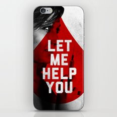 Let Me Help You iPhone & iPod Skin