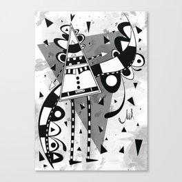 Sir Triangle Canvas Print