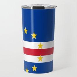 Flag of Cape Verde Travel Mug