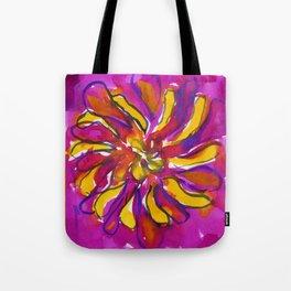 Bright Flower Tote Bag