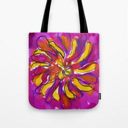 Bright Flower Tote Bag