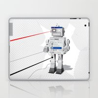 Photobot Laptop & iPad Skin