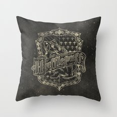 Hufflepuff House Throw Pillow