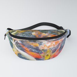 Koi Carp Splash Fanny Pack