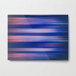 Abstract background blur motion hot pursuit violet Metal Print