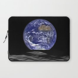 Earth Rising over the Horizon of the Moon Laptop Sleeve