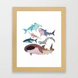 Bloop Bloop Framed Art Print