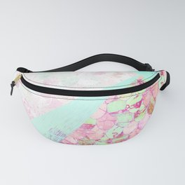 Abstract Summer Mermaid Scales Design Fanny Pack
