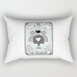 The Follower Rectangular Pillow