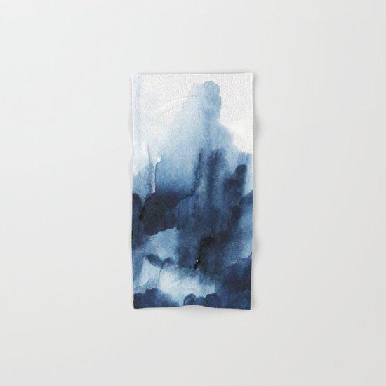 Indigo watercolor 2 Hand & Bath Towel