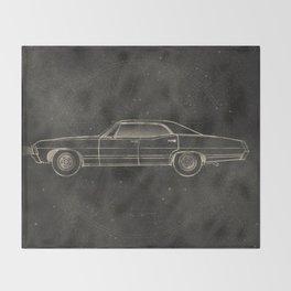 Supernatural: Impala Throw Blanket
