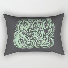 Time Stood Still Rectangular Pillow