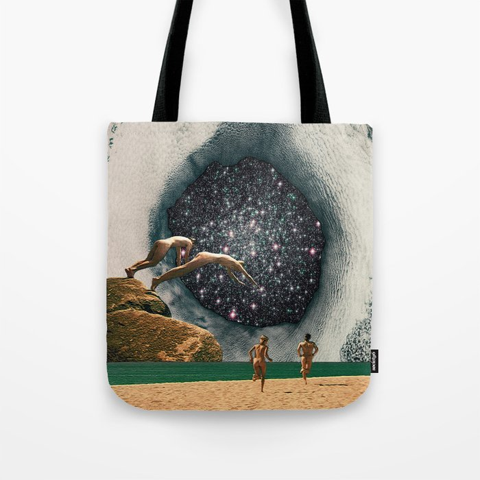 Catch the Wormhole of 3:45 PM Tote Bag