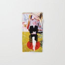 "Florine Stettheimer ""Henry McBride, Art Critic"" Hand & Bath Towel"