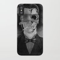 smoking iPhone & iPod Cases featuring Smoking by Havier Rguez.