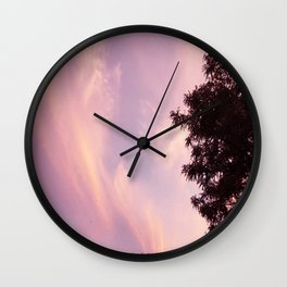 Calming Skies Wall Clock