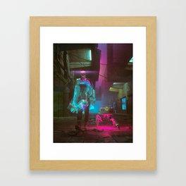 COLOR WALK (everyday 08.18.18) Framed Art Print