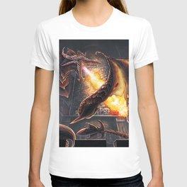 Castle Under Fire (Commission) T-shirt
