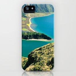 Lagoa do Fogo iPhone Case