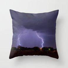 Lovington Lightning Throw Pillow