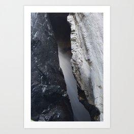 Hidden Water Box Canyon - Ouray, CO Art Print