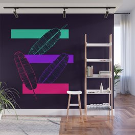 Neon Banana Leaves #society6 #tropical Wall Mural