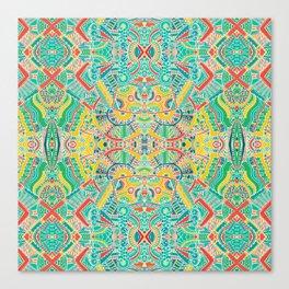 Boho pattern Canvas Print