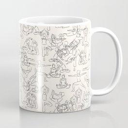 Yoga Manuscript Coffee Mug