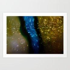 Light Drips Art Print