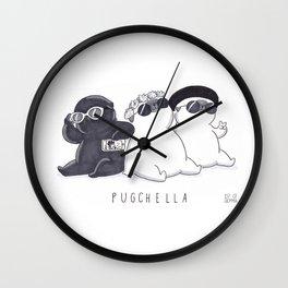 PUGCHELLA Wall Clock