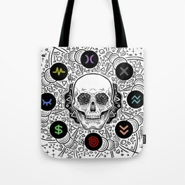 Side Effects Inverted Cover Art Tote Bag