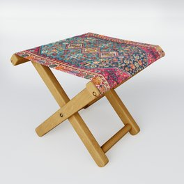 N131 - Heritage Oriental Vintage Traditional Moroccan Style Design Folding Stool