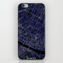 Florence by Night iPhone Skin