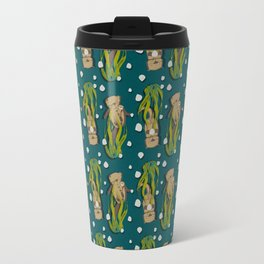 Significant otters teal Travel Mug