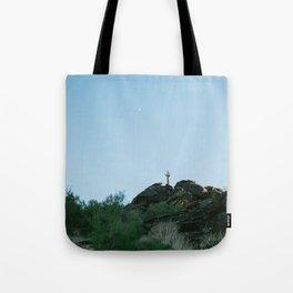 Arizona Desert Moon Tote Bag