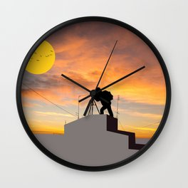 Perfect Shot Wall Clock