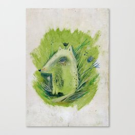 A very good Wolf Canvas Print