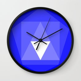 IsoFall Kyanite Wall Clock