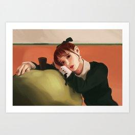 Loona- Chuu: Heart Attack Art Print