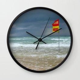 SWIM HERE Wall Clock