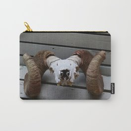 Big Horn Sheep Skull Carry-All Pouch