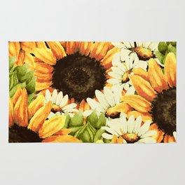 Summer Garden (Sunflower Sunshine) Rug