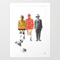 Paper Gangster Art Print