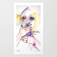 from the inside - out Art Print